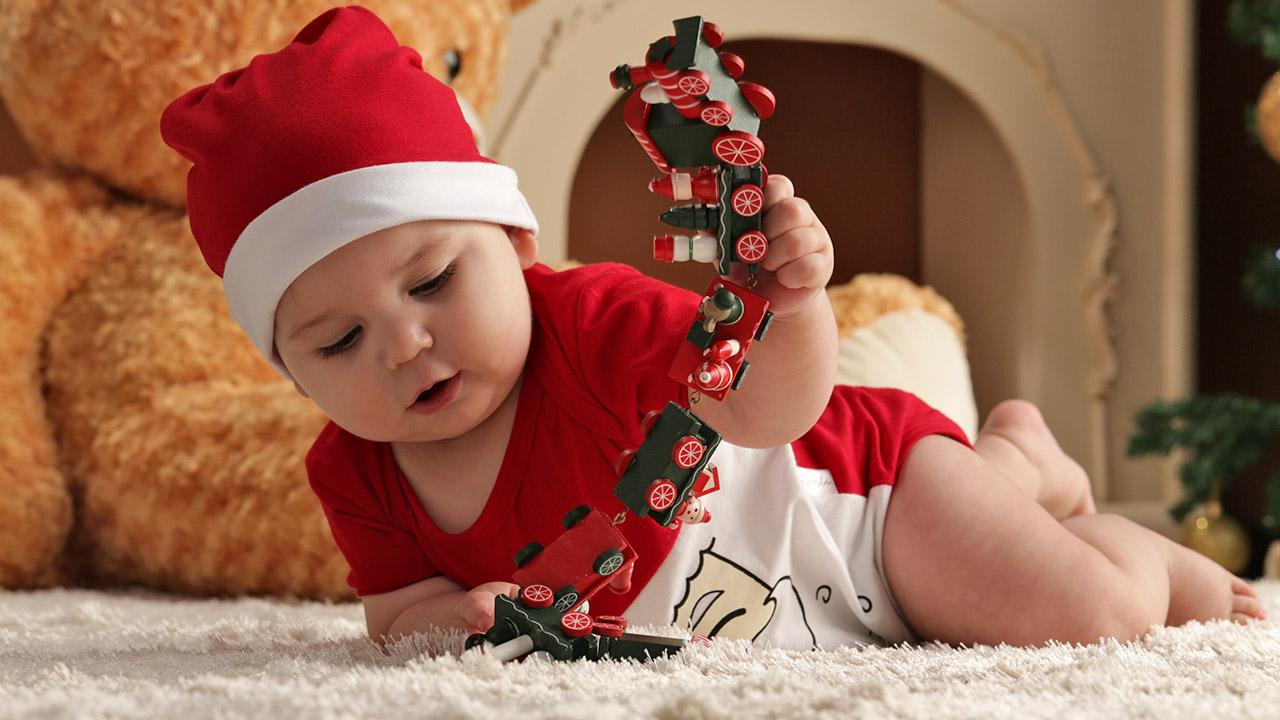 presentes de Natal para bebês e crianças
