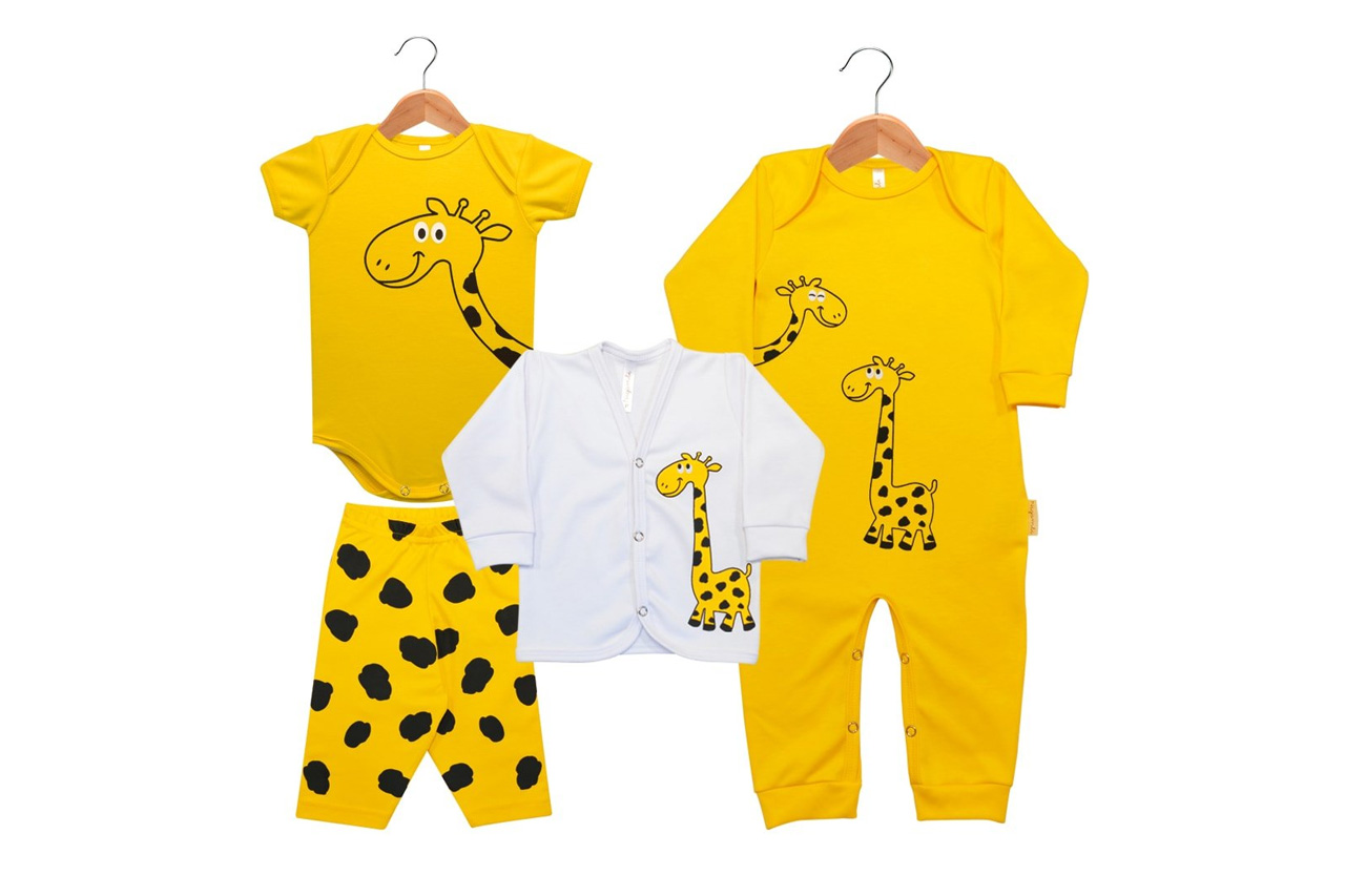 peças coordenadas para bebê