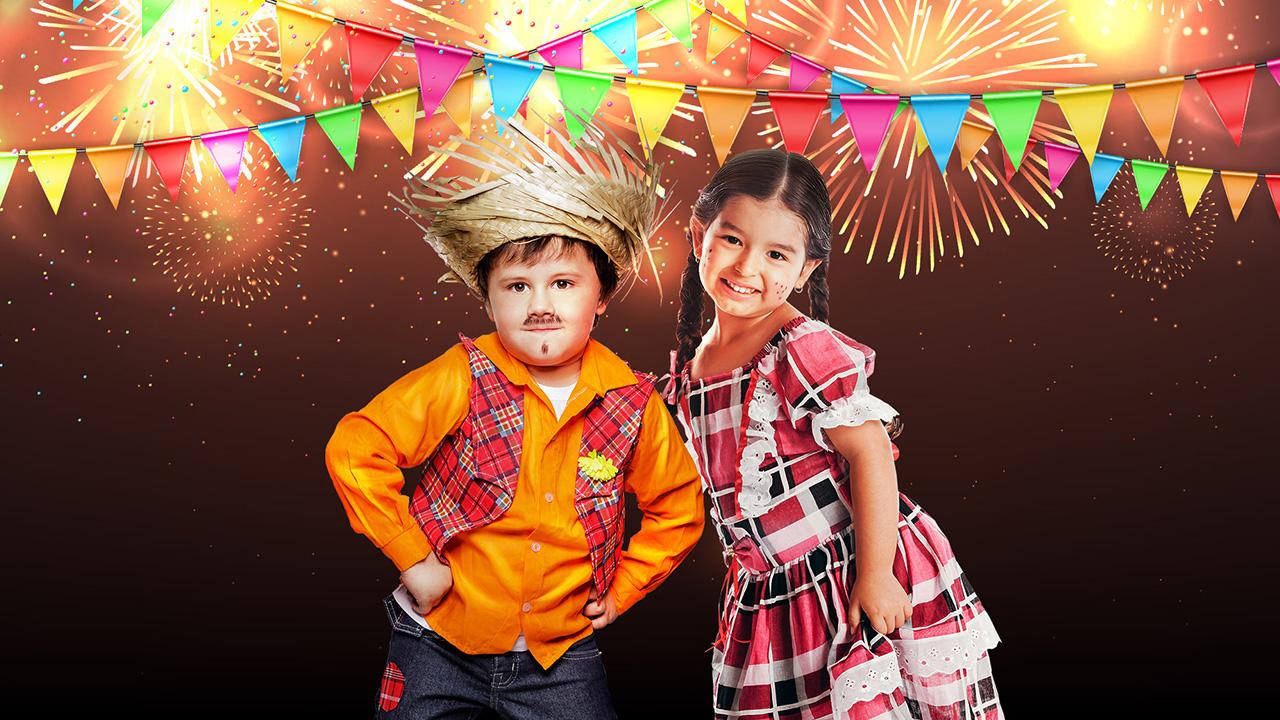festa junina para crianças